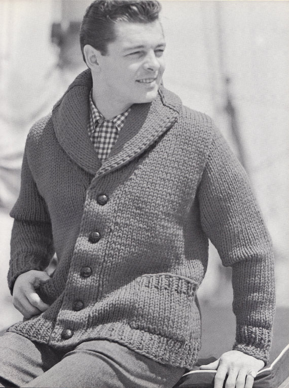 Vintage Cardigan Knitting Pattern Image Collections Knitting