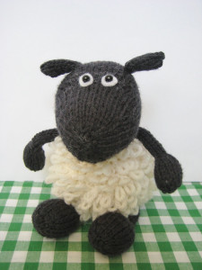 Sheep Toy Knitting Pattern Images