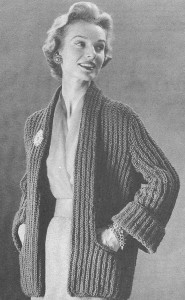 Pictures of Vintage Coat Knitting Pattern