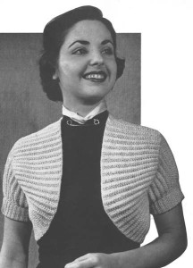 Images of Vintage Knitting Pattern