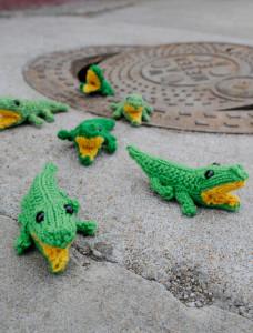 Gator Animal Knit