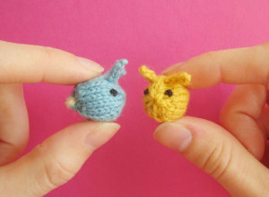 Knit Animals - Tiny Rabbits