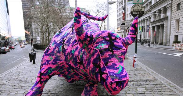 yarn-bull