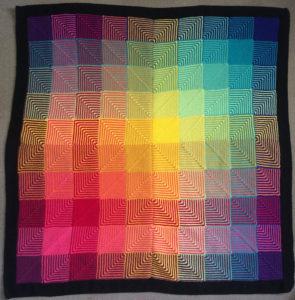 afghan rug pattern